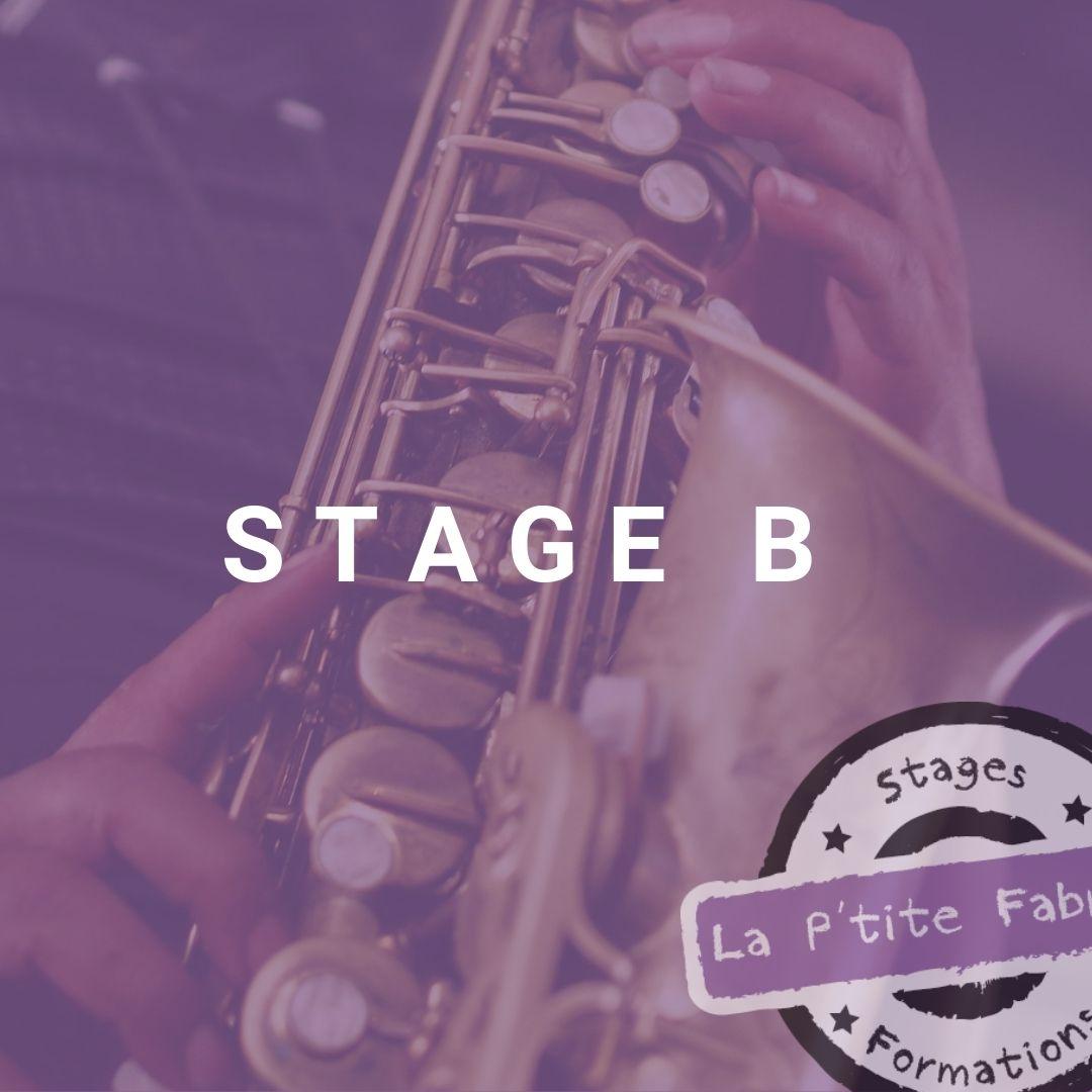 STAGE B : Pour une pédagogie de la FM à l'instrument